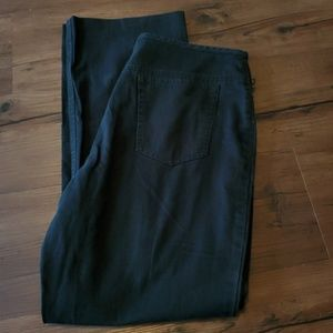 Vintage Ralph Lauren Black Cotton Pants Sz 12